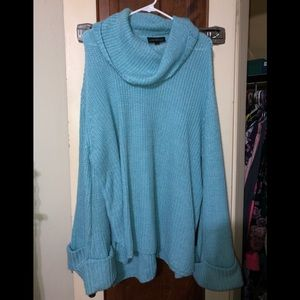 Lane Bryant cowl neck sweater